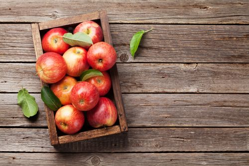 Apples help in burning fat