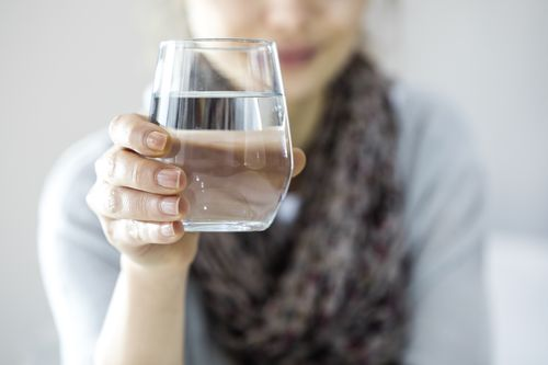 Drinking water helps reduce BMI