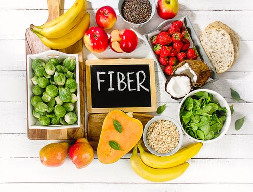 Add enough fiber to your diet in the morning and avoid carbs and fatty foods at night