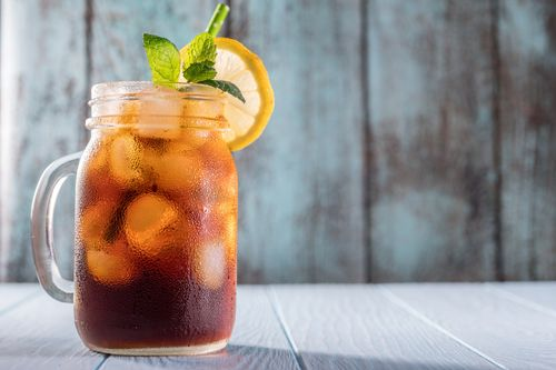 Iced black tea recipe