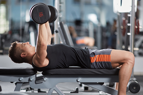 Lying Barbell Extension: