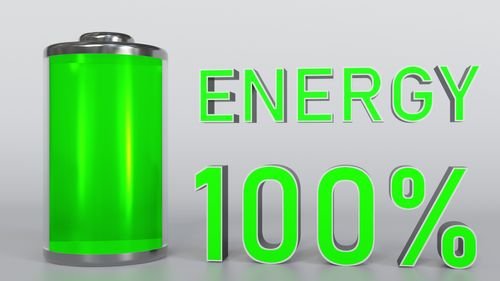 increase in energy levels