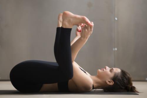 Ananda Balasana - Yoga for gastric related problems
